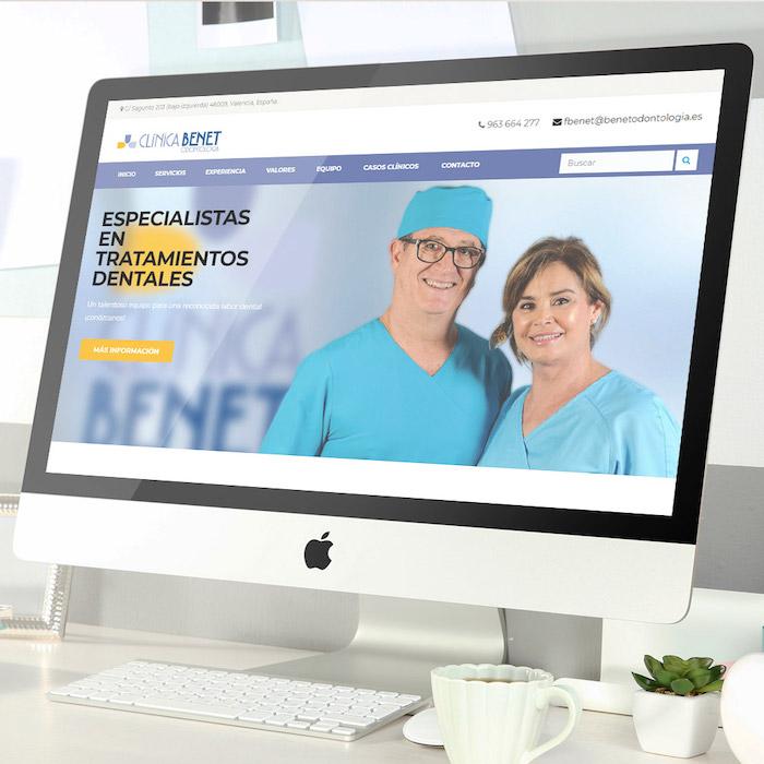 página web negocio